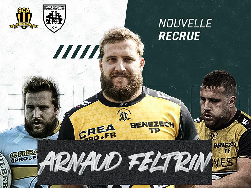 Arnaud FELTRIN arrive à l'USM Sapiac
